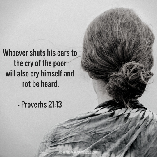 Whoever shuts his ears to the cry of the poorWill also cry himself and not be heard.